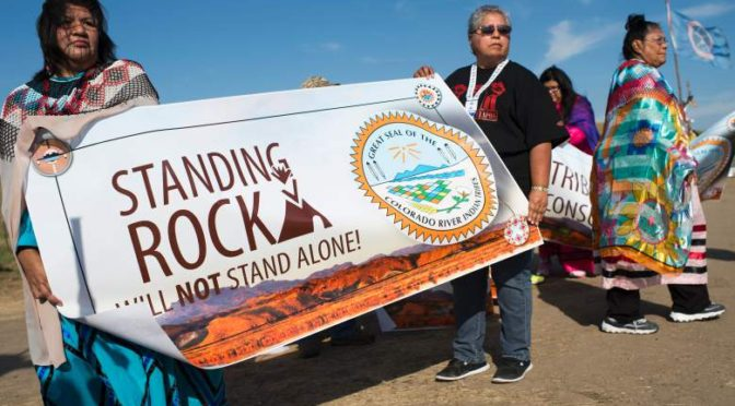 Standing Rock and Peaceful Protests